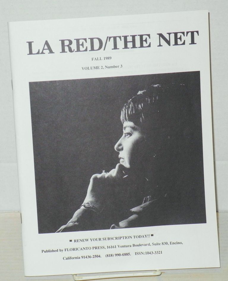 La red/the net: the Hispanic journal of education, commentary and reviews: vol. 2, #3, Fall 1989. Giselle K. Cabello.