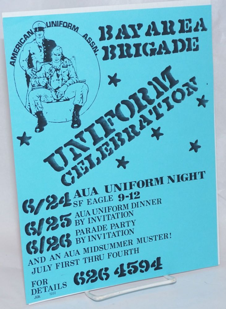Bay Area Brigade Uniform Celebration [handbill]