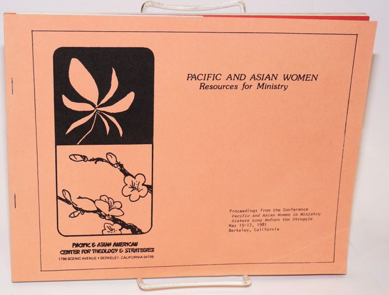 Pacific and Asian women, resources for ministry: Proceedings from the