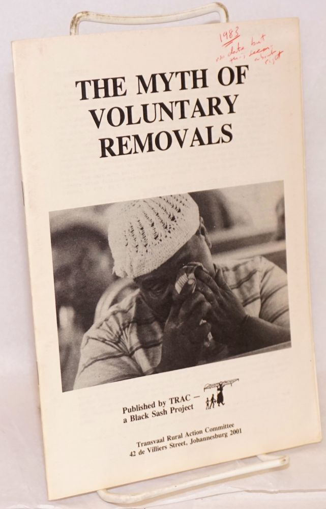 The myth of voluntary removals