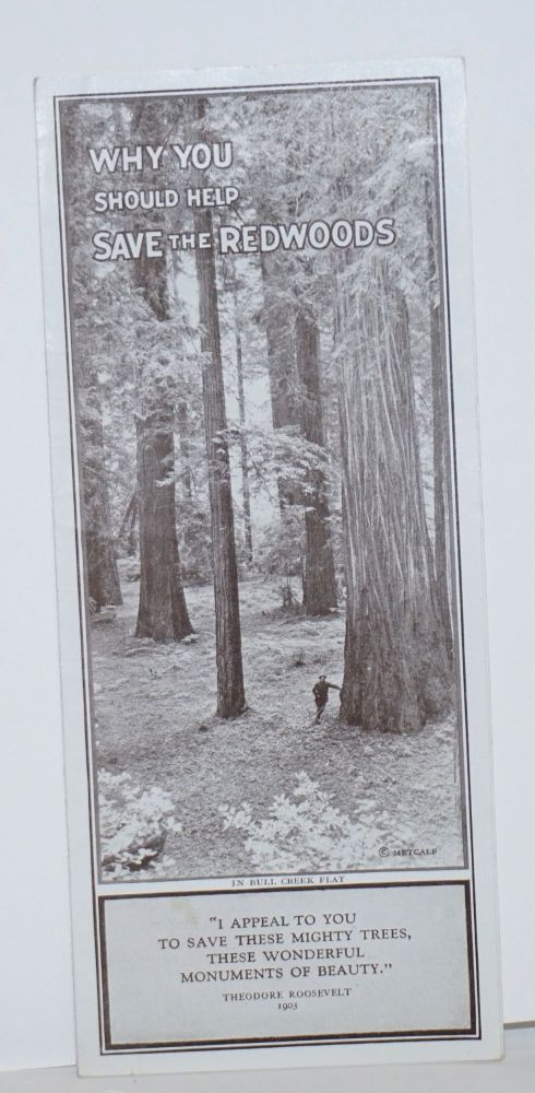 Why you should help save the Redwoods. Save-the-Redwoods League.