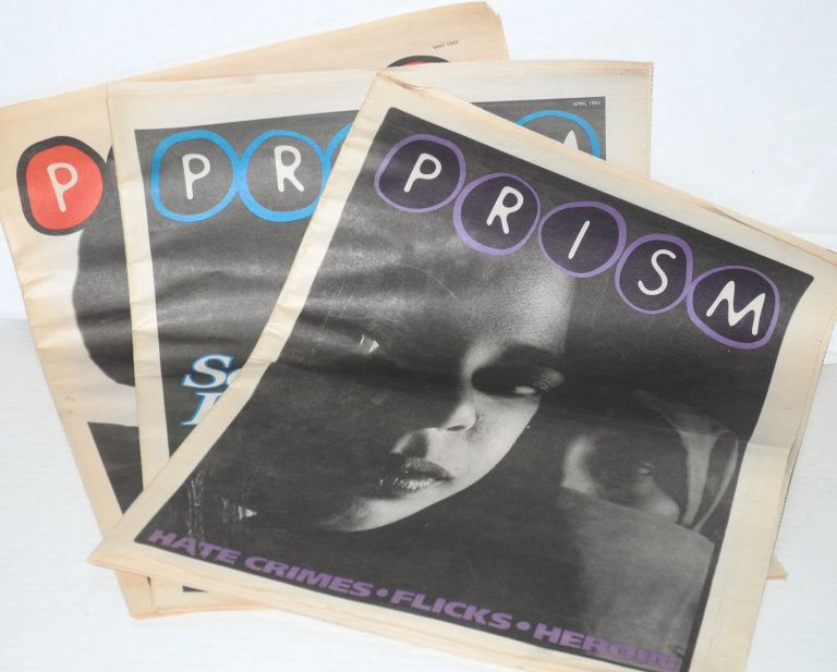 Prism: March, April & may 1993 [3 issue run]. Amy Pang.