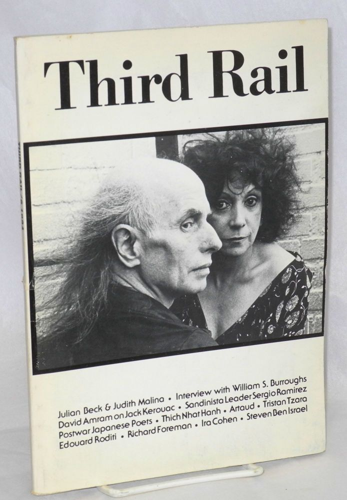 Third rail: a review of international literature and the arts; number 6, 1984. Uri Hertz, , Julian Beck, William S. Burroughs, Judith malina.