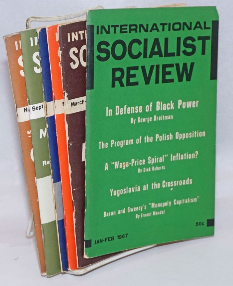 International Socialist Review [all six issues for 1967]