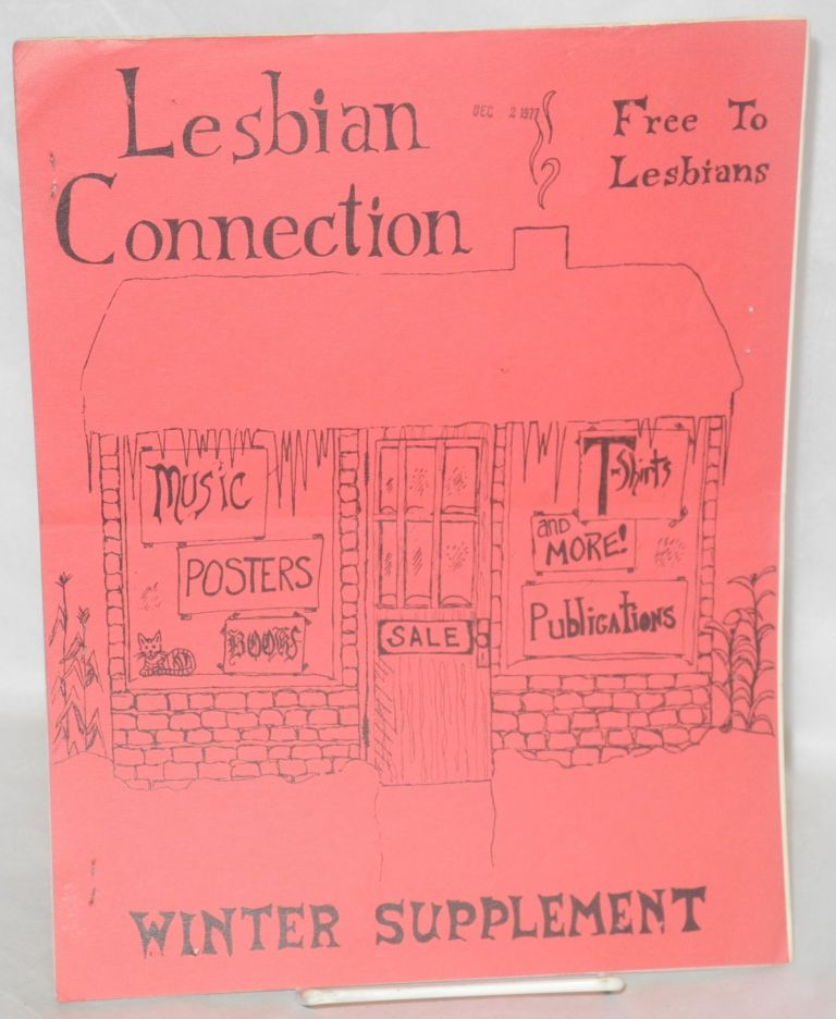 Lesbian connection: 2nd Winter Advertising Supplement, 1977