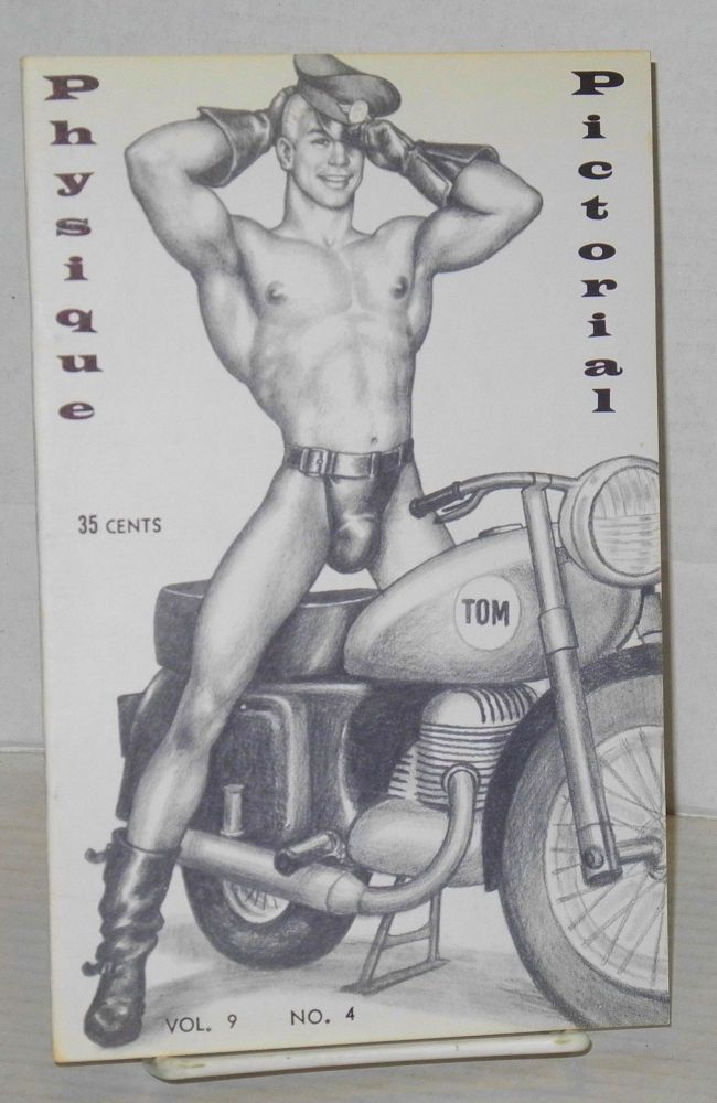 Physique pictorial: vol. 9, #4, April 1960. Tom of Finland.