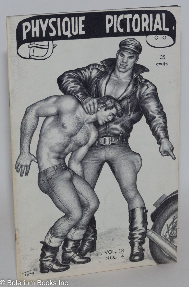 Physique pictorial vol. 13, #4, May 1964. Tom of Finland.