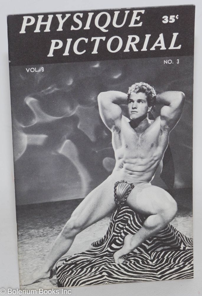 Physique pictorial: vol. 9, #3, January 1960. Quaintance Tom of Finland.