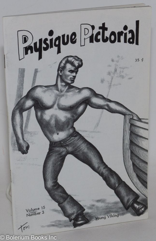 Physique pictorial: vol. 15, #3, June 1966. Harry Bush Tom of Finland.