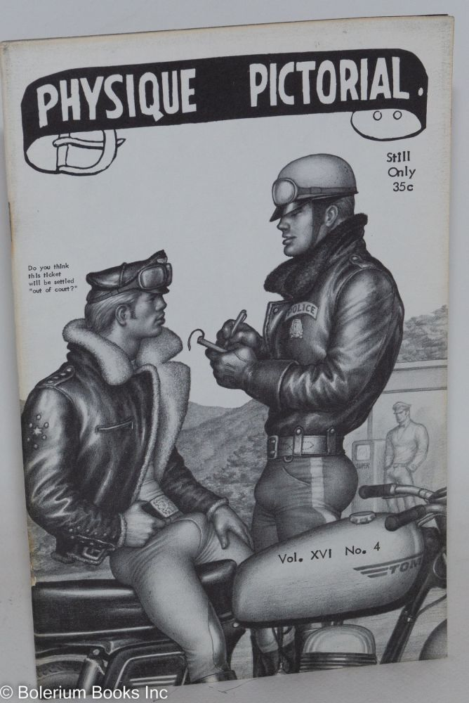 Physique pictorial vol. 16, #4, February, 1968. Spartacus Tom of Finland.