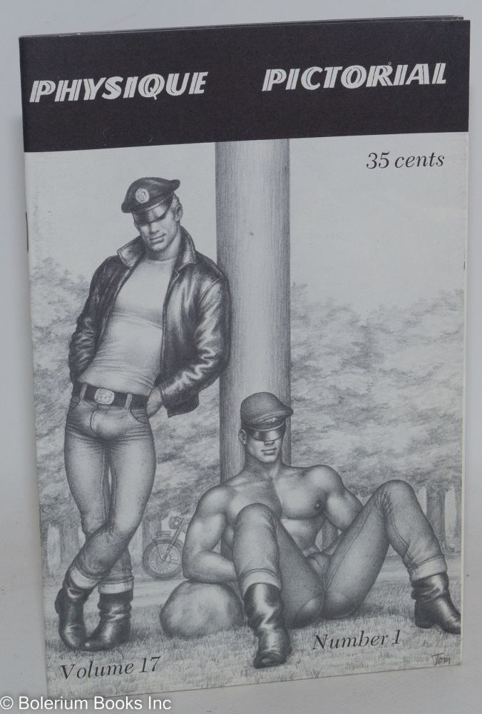 Physique pictorial vol. 17, #1 July, 1968. Tom of Finland.