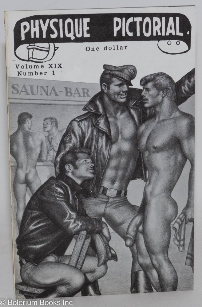 Physique pictorial vol. 19, #1 June, 1971. Tom of Finland.