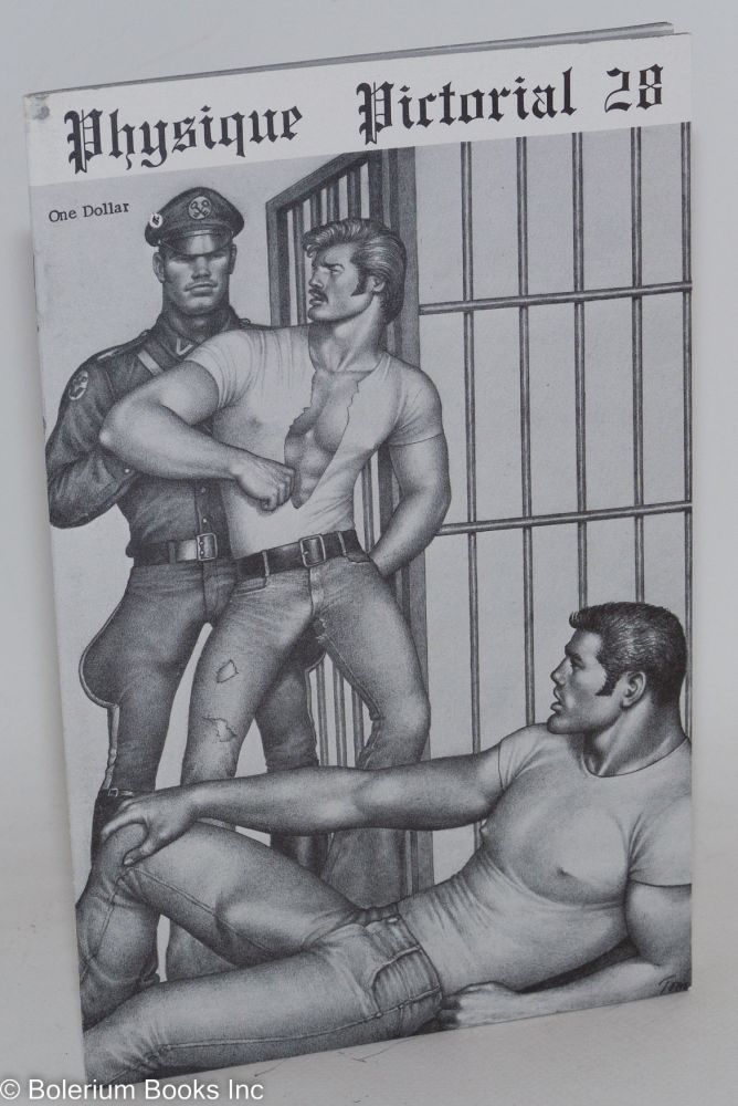 Physique pictorial: vol. 28 August, 1976. Tom of Finland.
