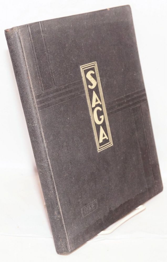 Saga 1932, Published by Associated Students of the Long Beach Junior College. Tom Alden Cullen.