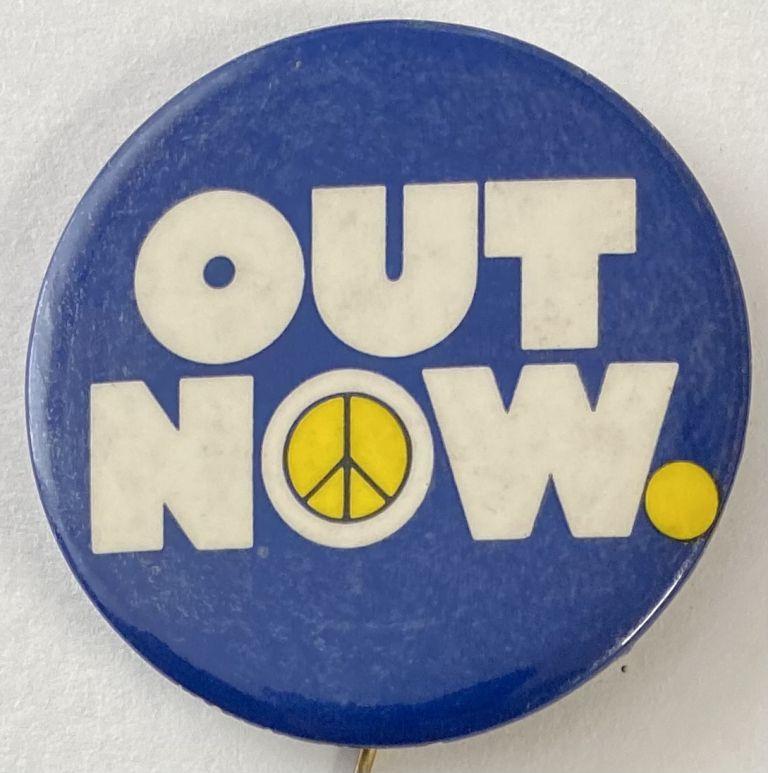 Out Now [pinback button]