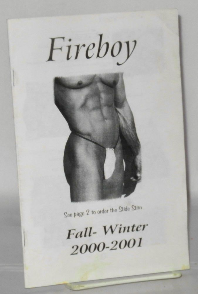 Fireboy catalog Fall-Winter, 2000-2001