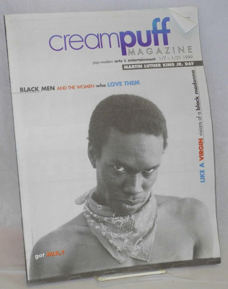 Creampuff magazine: pop-modern arts & entertainment; vol. 1, #11, 1/7 - 1/21 1999. Eric M. Rose.
