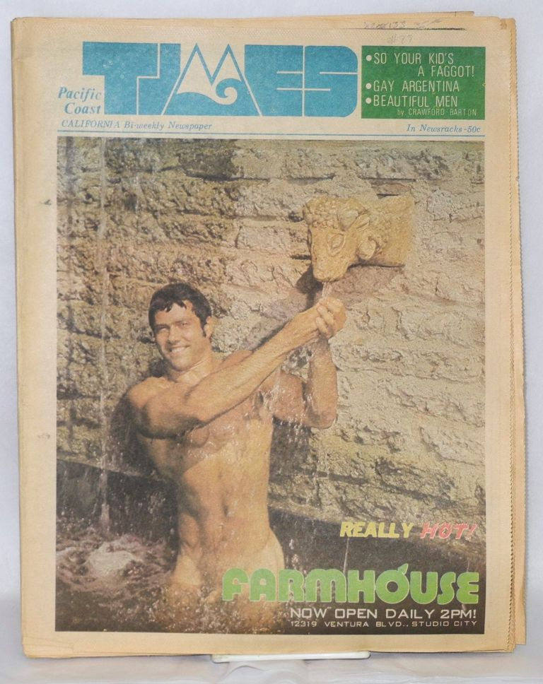 Pacific Coast Times: California Bi-weekly newspaper; issue #99, July 15-August 5, 1977. Robbie Appel.