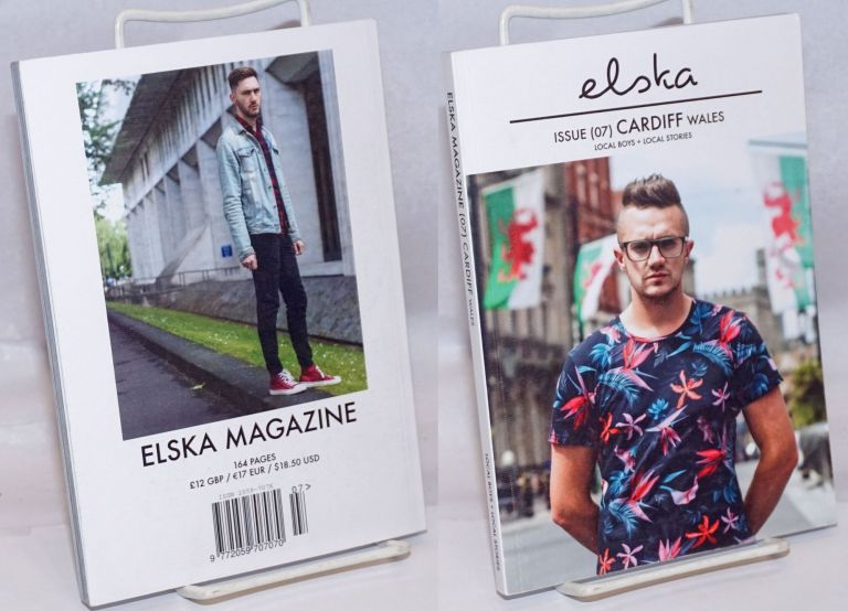Elska magazine issue (07) Cardiff Wales; local boys + local stories. Lliam Campbell, , and photographer.