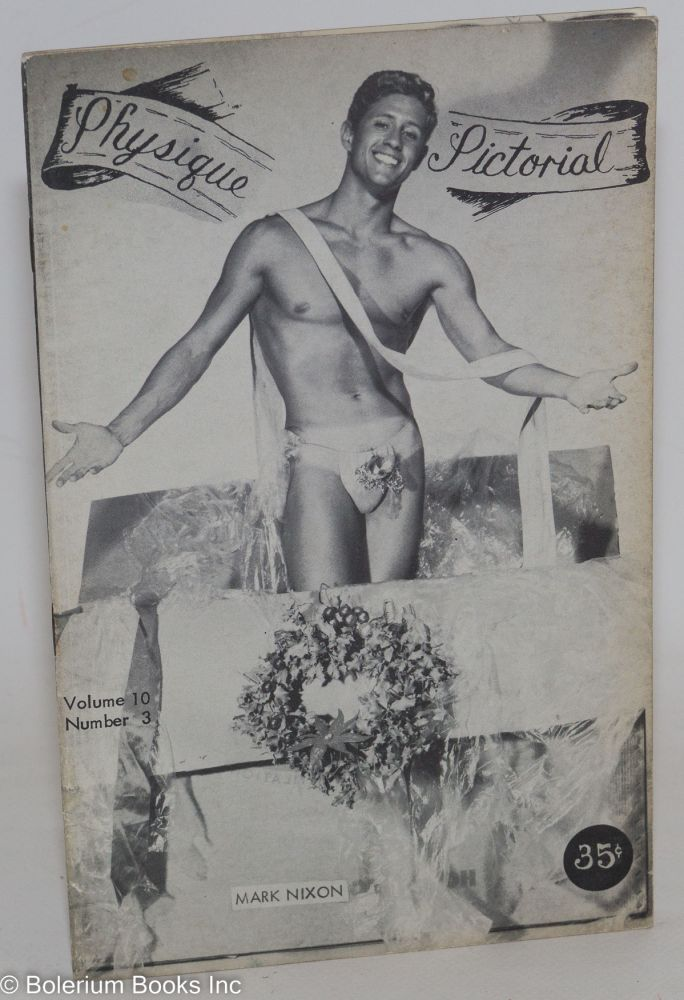 Physique pictorial: vol. 10, #3, January 1961. Spartacus Tom of Finland, Corelli.