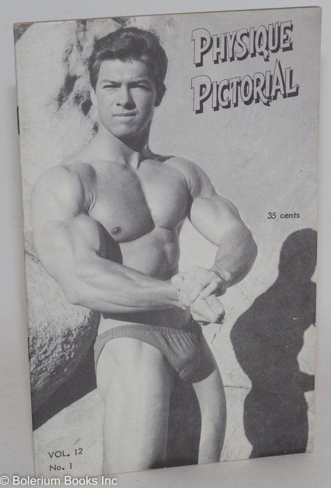 Physique pictorial vol. 12, #1, July 1962. Spartacus Tom of Finland.
