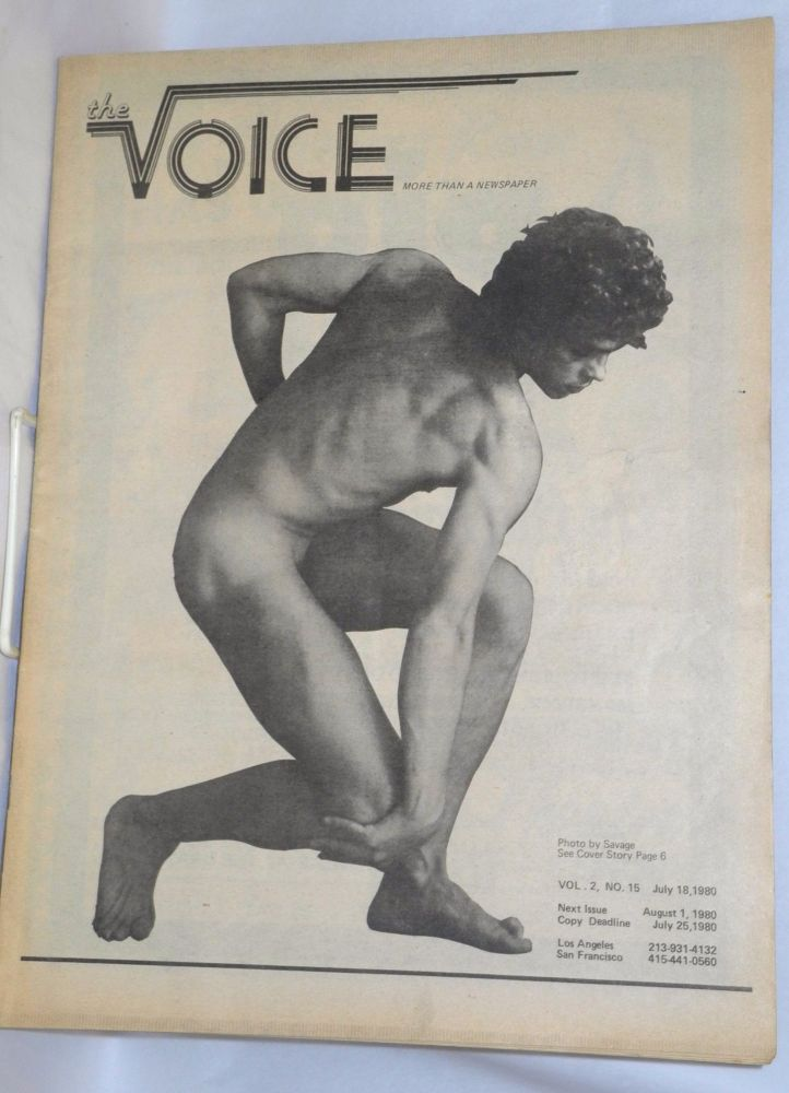The voice: more than a newspaper; vol. 2, #15, July 18, 1980. Paul D. Hardman, , Milton Marks, Dianne Feinstein, Quentin Kopp.