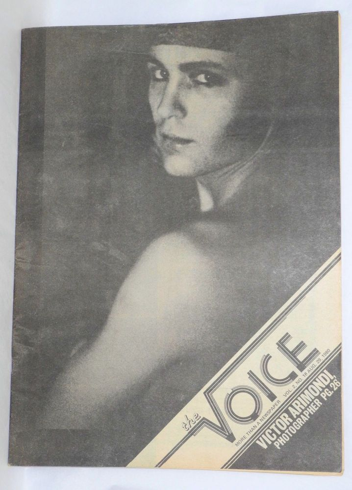 The voice: more than a newspaper; vol. 2, #18, August 29, 1980. Paul D. Hardman, , E. Lee Clifton, Donald McLean, Quentin Kopp.