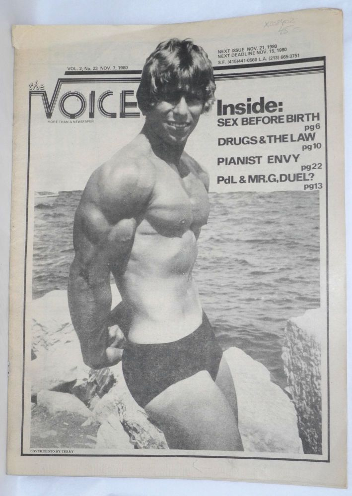 The Voice: more than a newspaper; vol. 2, #23, Nov. 7, 1980. Paul D. Hardman, Quentin Kopp Milton Marks, Donald McLean.