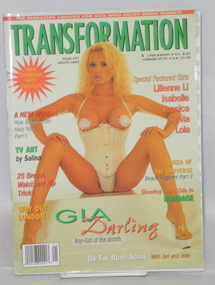 Transformation: the magazine created for men who enjoy being women; issue #21. Jeri Lee, , publisher.