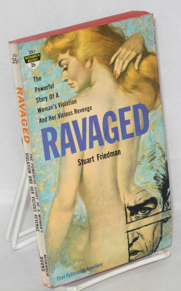 Ravaged. Stuart Friedman, cover, Ray Johnson.