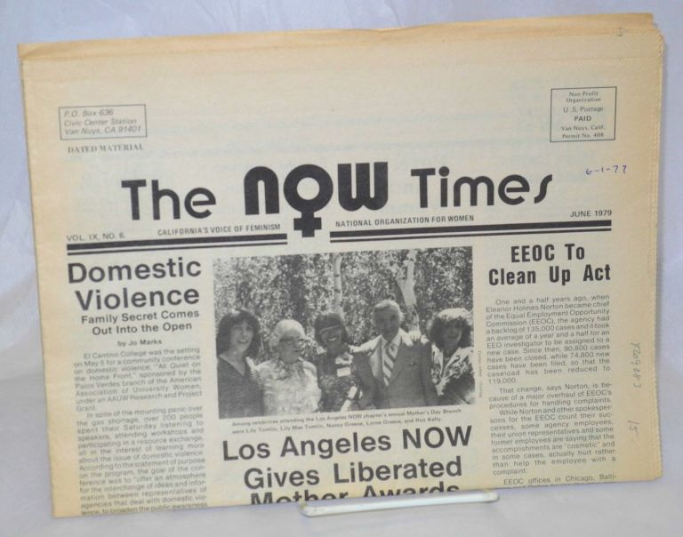 The NOW times: California's voice of feminism; vol. 9, #6, June 1979