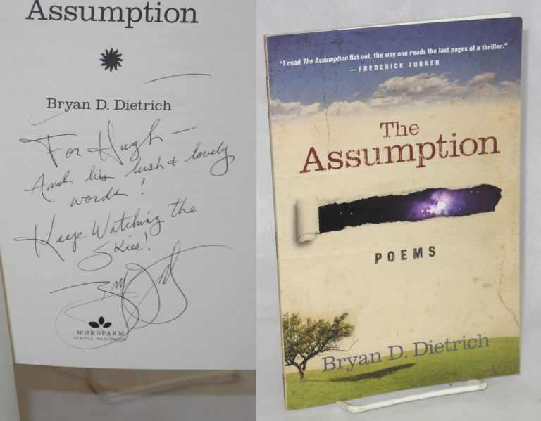 The Assumption Poems. Bryan D. Dietrich.