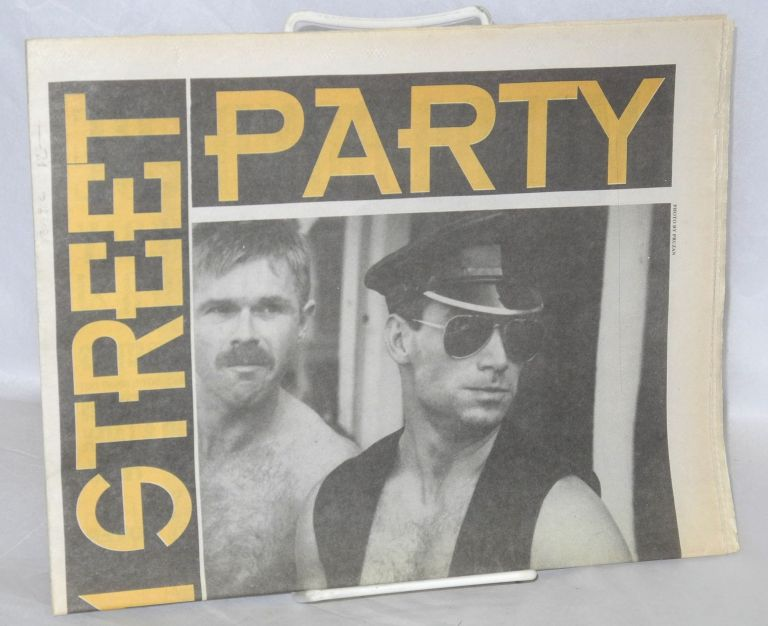 Folsom Street Party 1991 [pull-out from September 19, 1991 SF Sentinel]