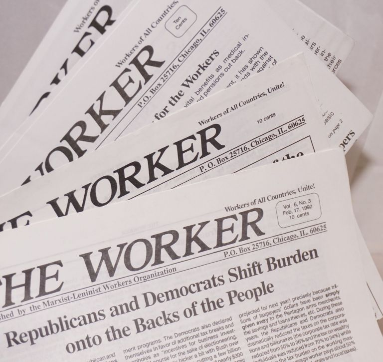 The Worker [four issues]
