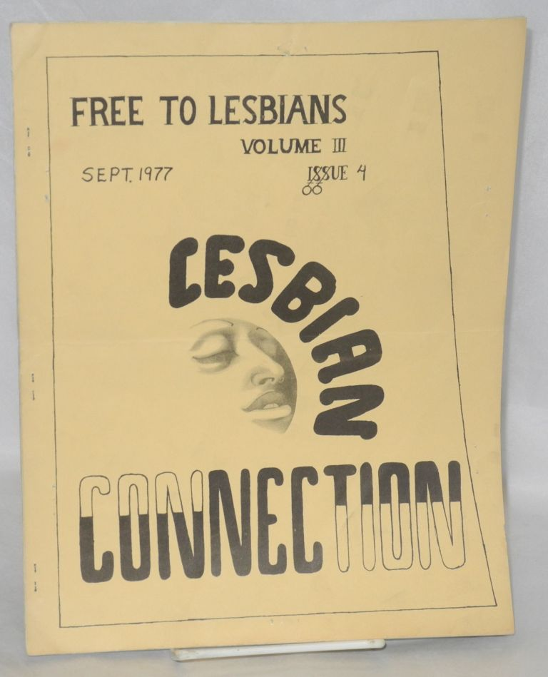 Lesbian Connection: vol. 3, #4, September 1977