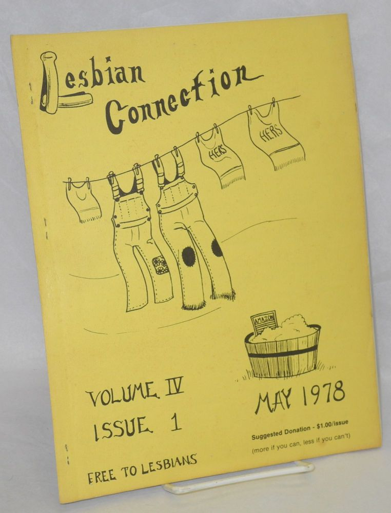 Lesbian Connection: vol. 4, #1, May 1978