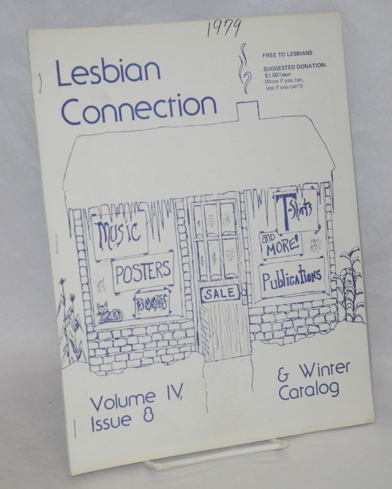 Lesbian Connection: vol. 4, #8, November 1979 & Winter Catalog