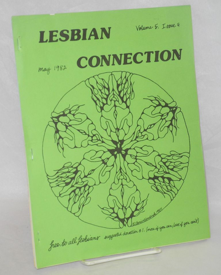 Lesbian Connection: vol. 5, #4, May 1982