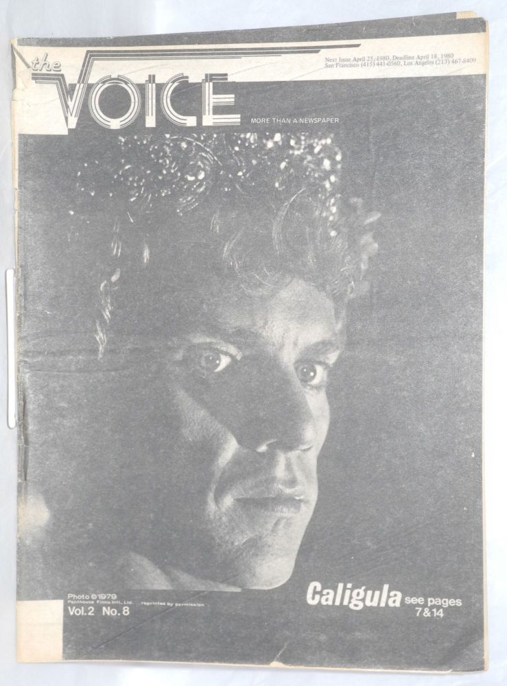 The Voice: more than a newspaper; vol. 2, #8, April 11, 1980. Paul D. Hardman, E. Lee Clifton Ken Dickmann, Robert A. Winter, Jesse Will Deane.