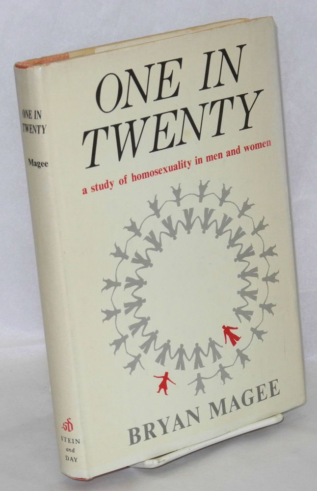One in twenty; a study of homosexuality in men and women. Bryan Magee.