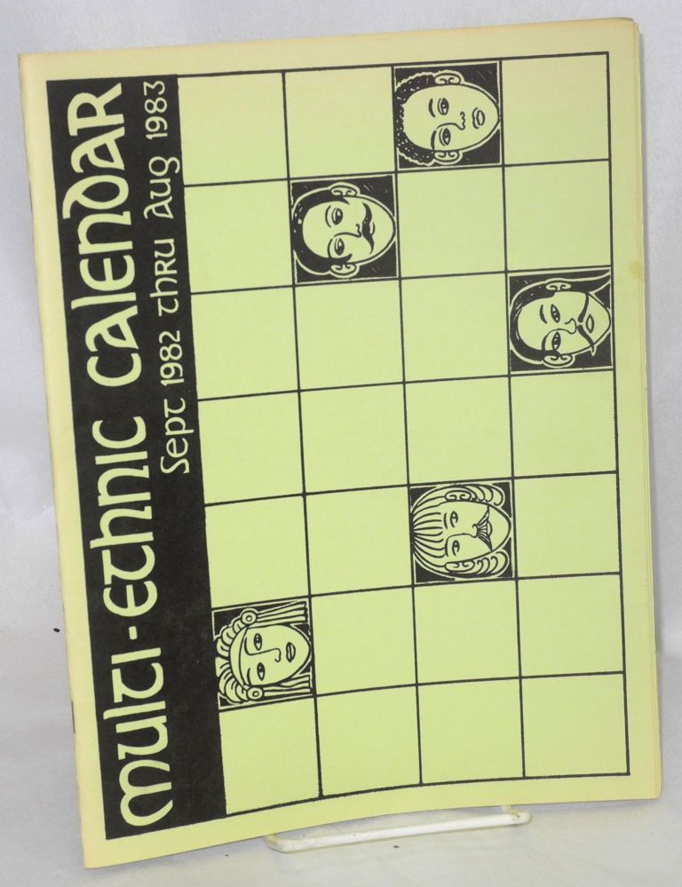 Multi-ethnic calendar. Sept. 1982 thru Aug. 1983. Oakland Unified School District.