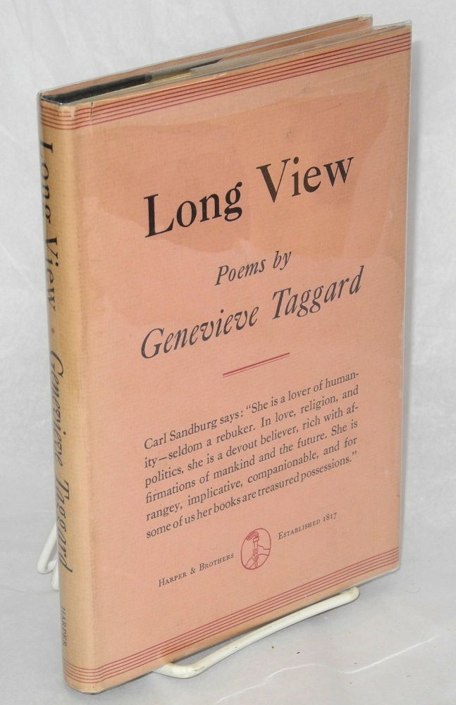 Long view. Genevieve Taggard.