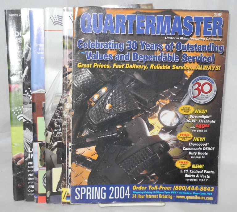 Quartermaster Uniform Manufacturing Company, the expert resource for law enforcement professionals; six issues. Jim DiRosa, president.