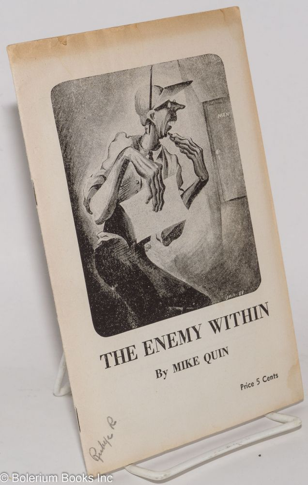 The enemy within by Mike Quinn [pseud.]. Paul William Ryan.