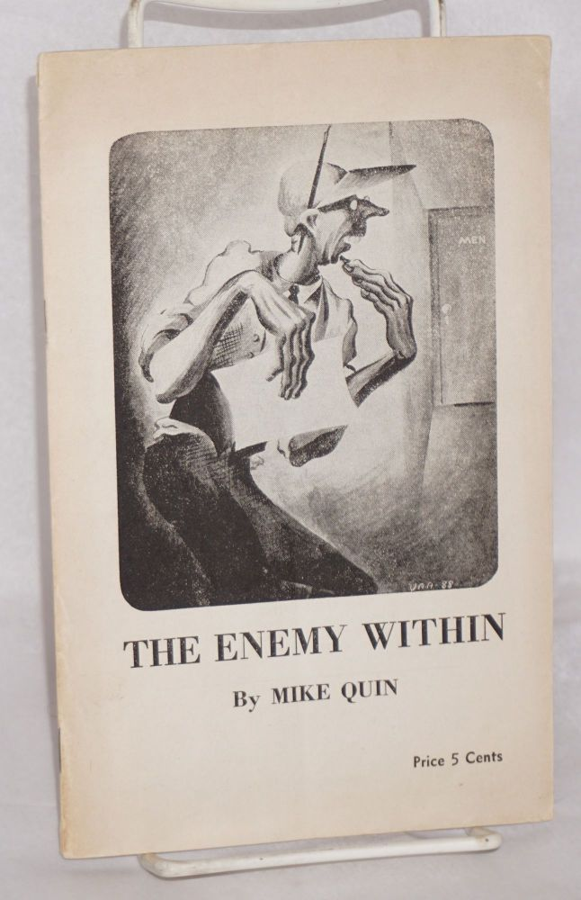 The enemy within by Mike Quin [pseud.]. Paul William Ryan, as Mike Quin.