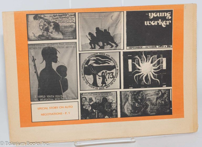 Young worker. Sept/Oct. 1973. Young Workers Liberation League.