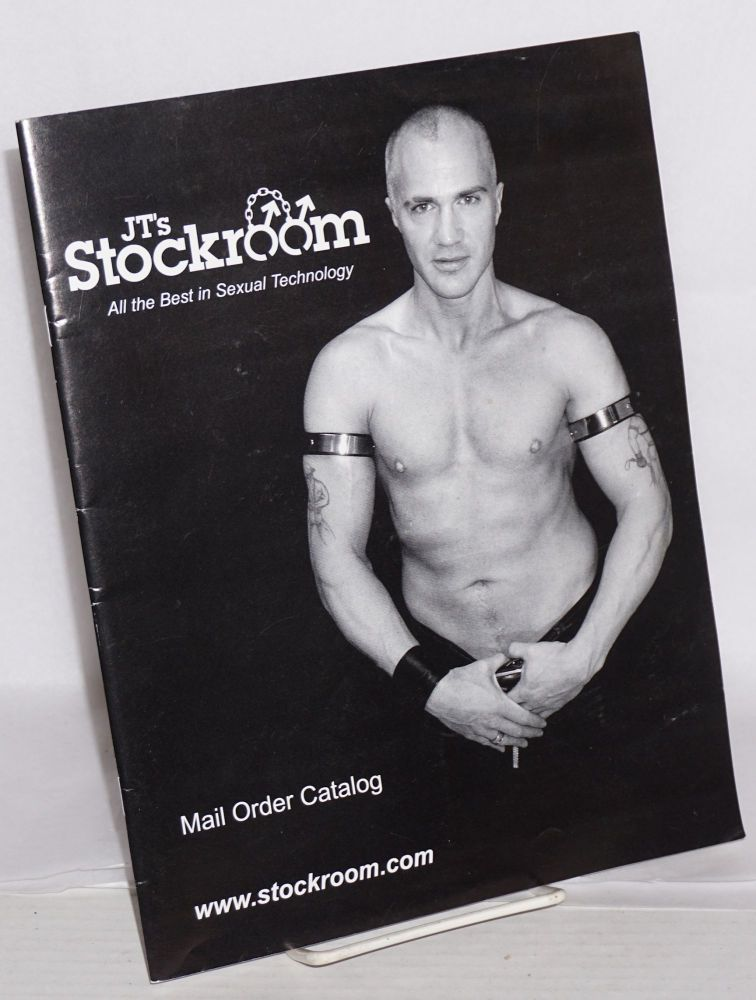 JT's Stockroom Mail Order Catalog: all the best in sexual technology