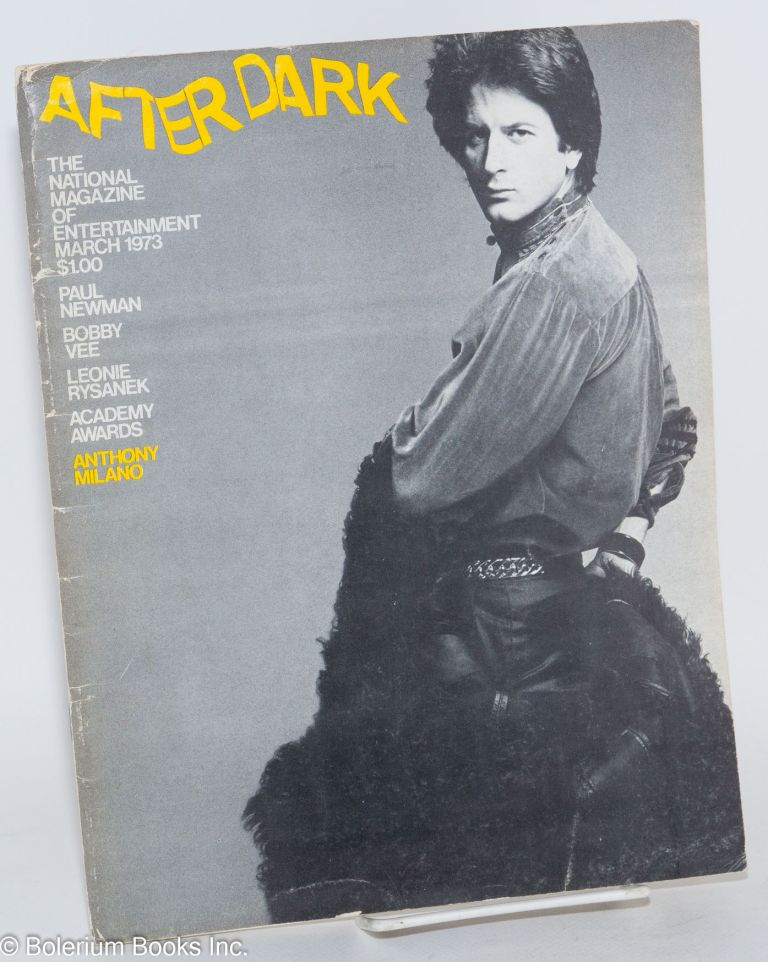 After Dark: the national magazine of entertainment vol. 5, #11, March 1973. William Como.