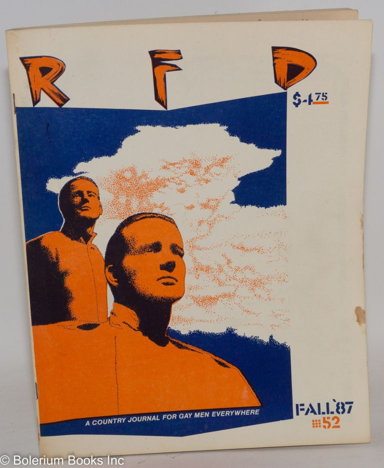 RFD: a country journal for gay men everywhere; #52, Fall 1987 [vol. 14, #1]