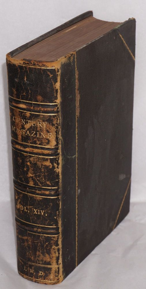 The New Century Illustrated Monthly Magazine: May 1888 to October 1888; bound volume XXXVI, new series volume XIV, no. 1-6